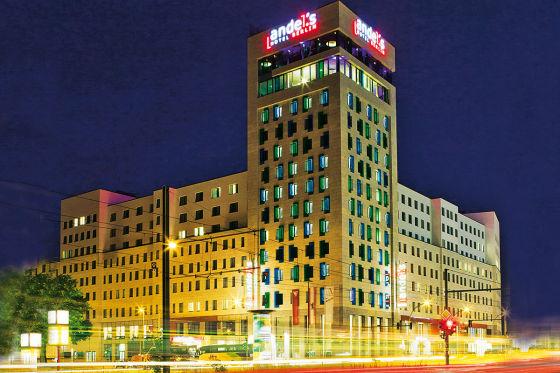 Vier-Sterne-Designhotel Andel's in Berlin