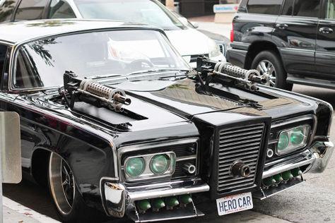 Green Hornet-Filmauto wird versteigert