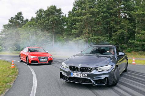 Audi RS 5 BMW M4