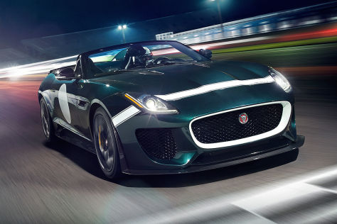 Jaguar F-Type Project 7: Vorstellung in Goodwood