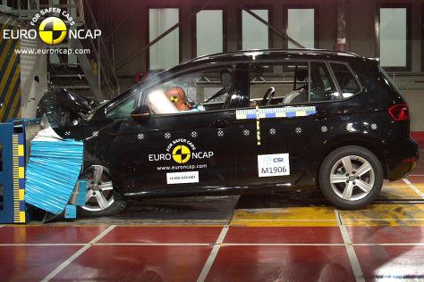 VW Golf Sportsvan (2014): Euro NCAP Crashtest