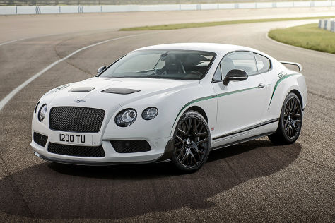 Bentley Continental GT3-R: Vorstellung in Goodwood