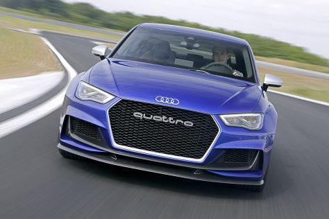 Audi A3 clubsport quattro: Fahrbericht