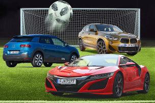 Fußball-WM: die schönsten Autos
