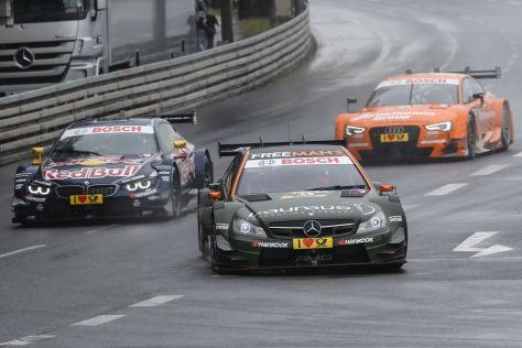 Jubel bei Robert Wickens: Er hat das DTM-Rennen am Norisring gewonnen