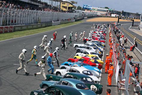 Le Mans Classic 2012 Start