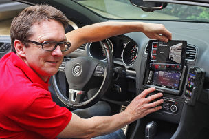 iPad-Betrieb im Auto