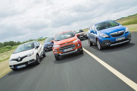 Fünf kleine SUVs im Test