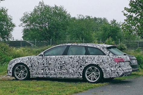 Audi RS 6 Erlkönig