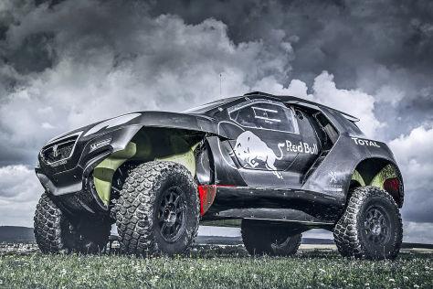 Peugeot 2008 DKR: Dakar-Auto vorgestellt