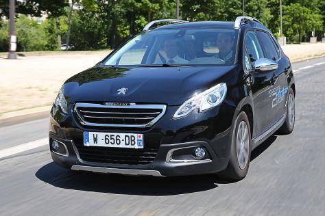 Peugeot 2008 HybridAir (2017): Fahrbericht
