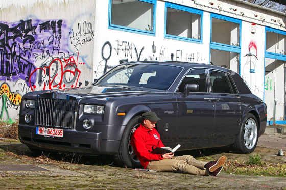 A Day With the Rolls Royce Phantom