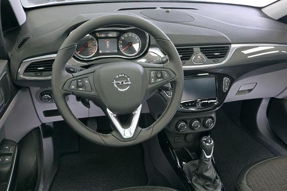 Opel Corsa Sitzprobe