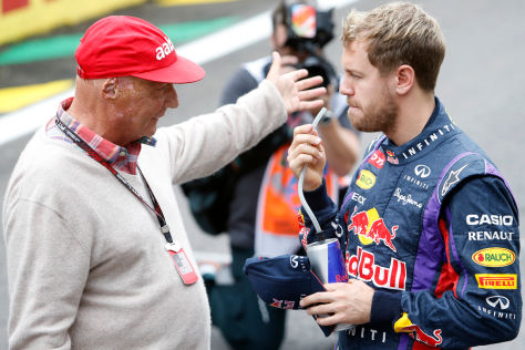 Lauda & Vettel