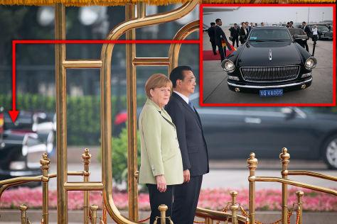 Hongqi L5: China hofiert Merkel
