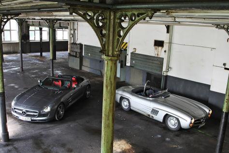 Mercedes SLS AMG Roadster, Mercedes 300 SLS