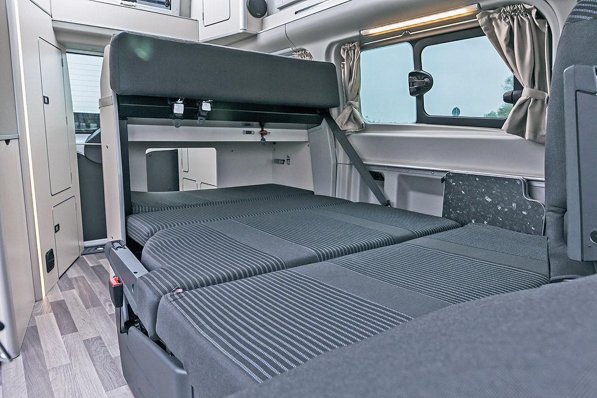 ford transit custom nugget im test bilder. Black Bedroom Furniture Sets. Home Design Ideas