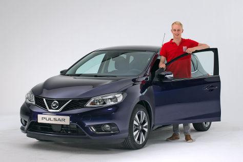 Nissan Pulsar (2014): Sitzprobe