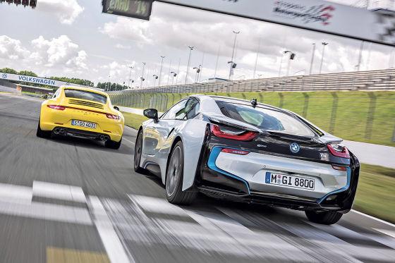 BMW i8 Porsche 911