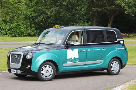 New Metrocab: Erste Fahrt in Londons Taxi der Zukunft