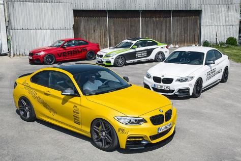 BMW M235i: Tuning-Vergleich
