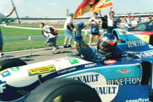Formel 1: Hockenheim-Historie in Bildern