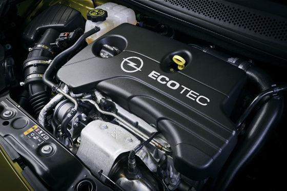 Opel Adam Einliter-Turbomotor