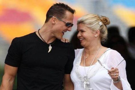Corinna Schumacher dankt den Fans ihres Manns für ihre Unterstützung