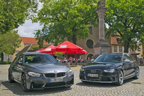 Audi RS 4 Avant BMW M3