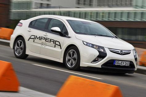 Opel Ampera: Schlechte Verkaufszahlen