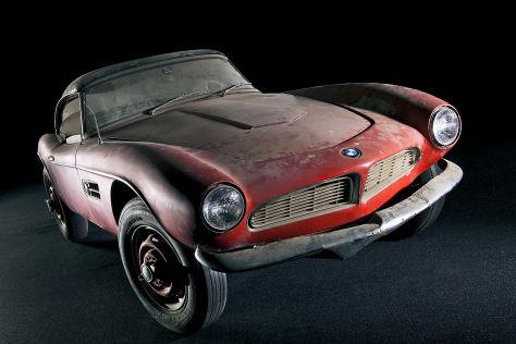 BMW 507 von Elvis im Museum