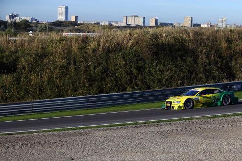 Die DTM-Fans dürfen die Autos auch in diesem Jahr in Zandvoort beobachten