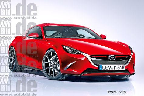 Mazda Rx 9 2017 Wankelmotor Wird Wiederbelebt Autobild De