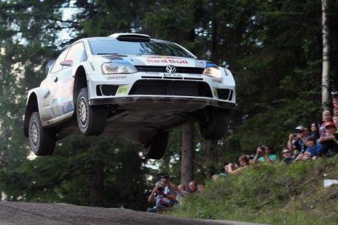 Die Rallye Finnland mit ihren spektakulären Sprungkuppen ist ein Klassiker