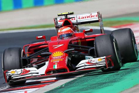 Kimi Räikkönen hatte öfters gefragt, ob Ferrari sich sicher ist