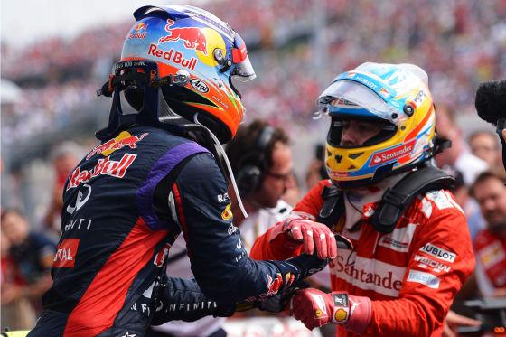Ricciardo & Alonso