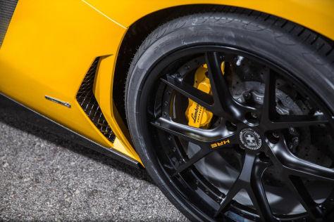 Lamborghini Aventador auf HRE S101