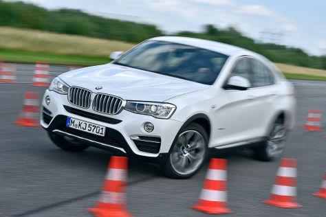 BMW X4 Frontansicht