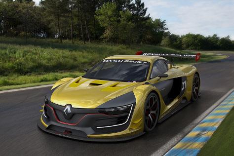 Renault Sport R.S. 01 (Alpine): Moskau Motor Show 2014