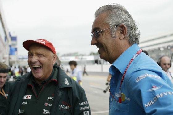 Lauda & Briatore