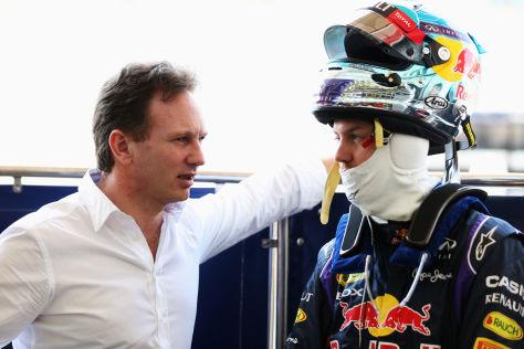 Horner & Vettel