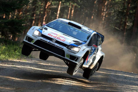 Jari-Matti Latvala hat zum zweiten Mal nach 2010 sein Heimrallye gewonnen
