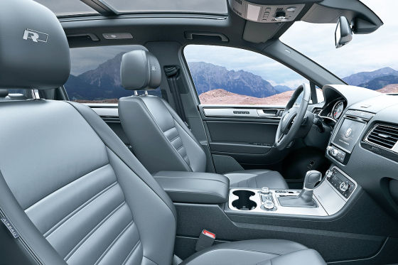 VW Touareg: Allrad-Sänfte mit Ledersitzen