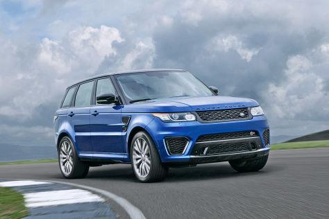 Range Rover Sport SVR: Autosalon Paris 2014