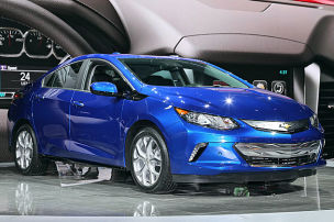 Chevrolet Volt: Detroit Motor Show 2015