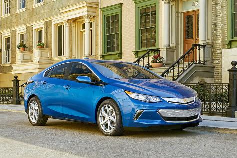 Chevrolet Volt: Detroit Auto Show 2015