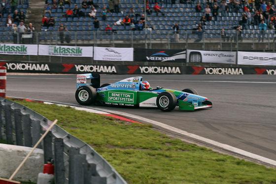 Benetton-Ford F1 Rennwagen