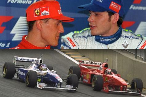 Schumacher & Villeneuve