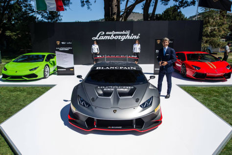 Lamborghini Huracán Super Trofeo: Pebble Beach
