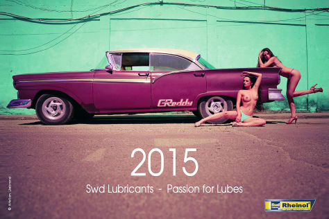SWD Pin-Up-Kalender 2015